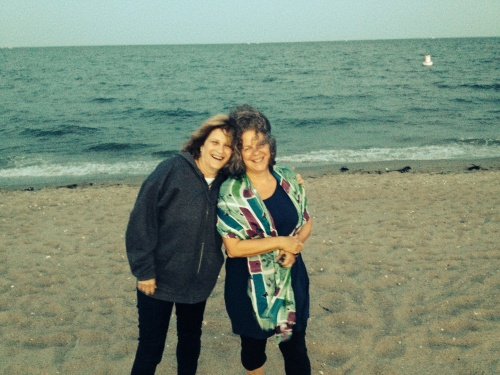 Fairfield beach with Myra