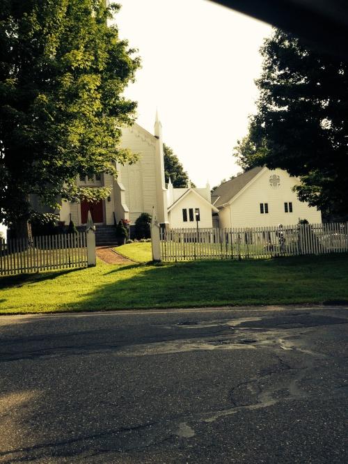 New England scene, Trumbull
