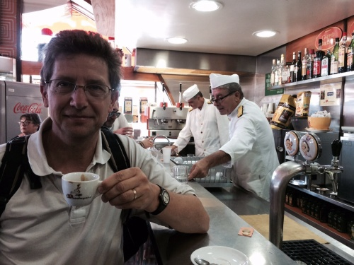 Expresso at cafe Mexico, Naples