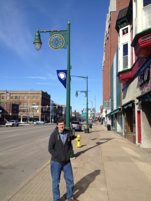 Galesburg, Main street