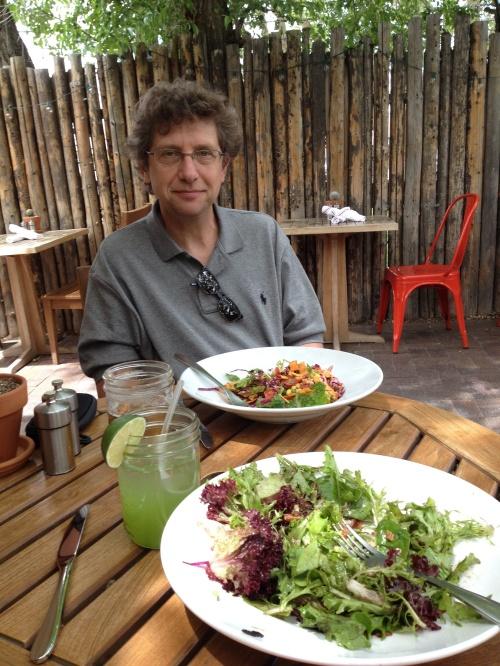 Salads at Vinegarette