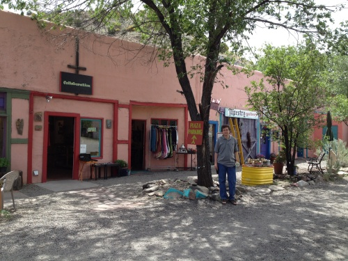 Shopping in Madrid, New Mexico