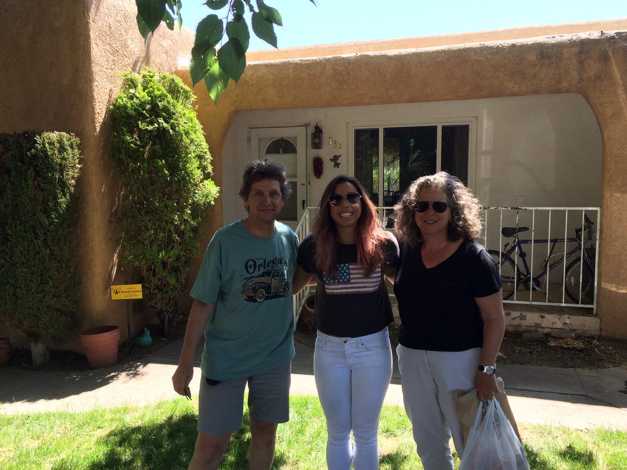 With Amelia In Albuquerque