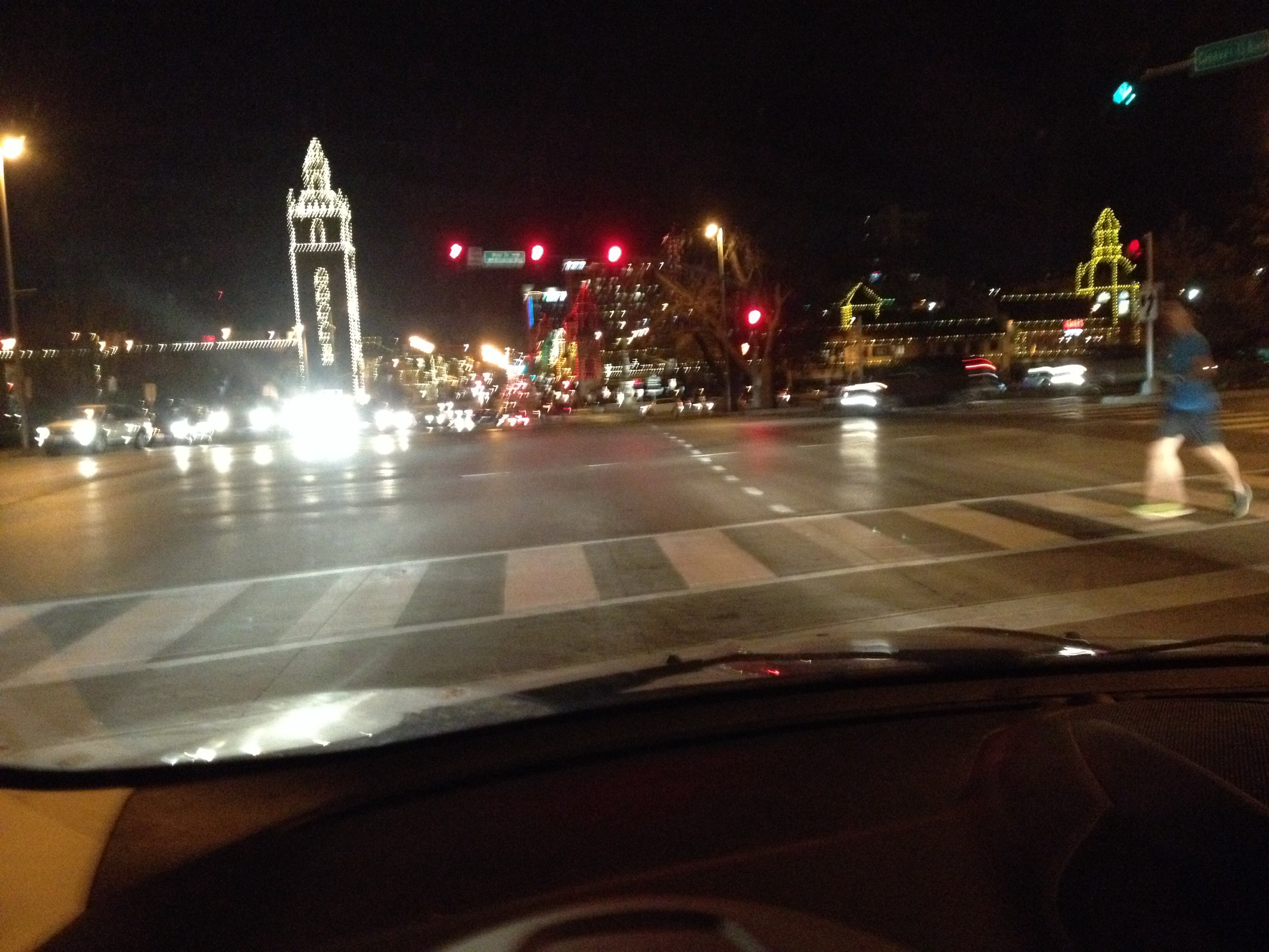 The famous PLaza lights!