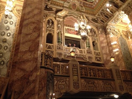 Beautiful oriental theater