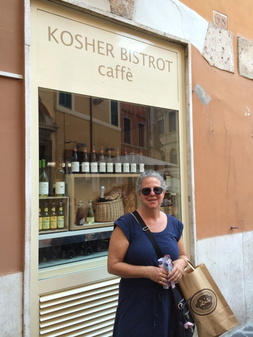 With my Ibiz shopping bag, Roma 2014