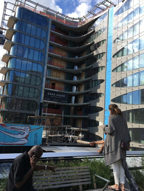 Zahah Hadid building on High Line