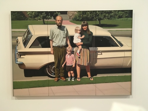 Robert Bechtle, 61' Pontiac, 1968-69 oil on canvas
