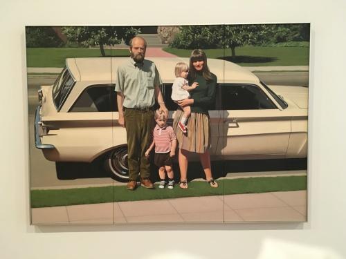 Robert Bechtle, 61' Pontiac, 1968-69 oil on canvas